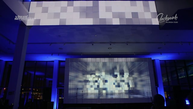 Video Mapping 3D Mercedes